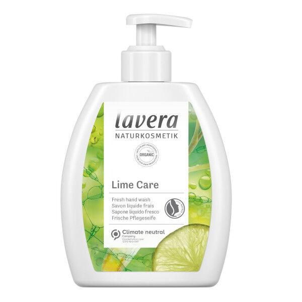 Lavera Lime Care Savon Liquide Frais Bio 250ml