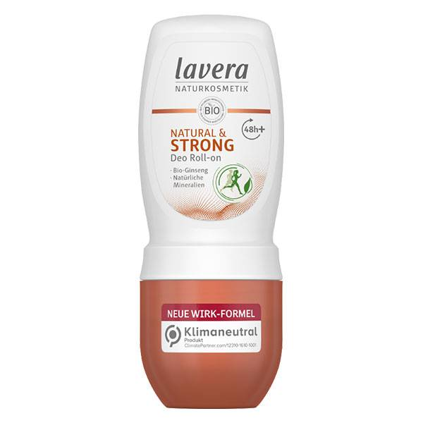 Lavera Déodorant Roll-On Natural & Strong Bio 50ml