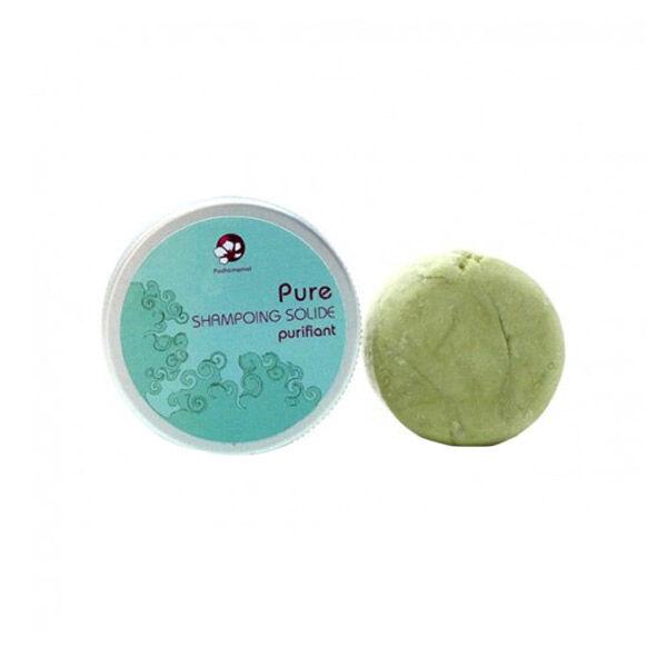 Pachamamai Pure Shampoing Solide Purifiant boite métal 25g
