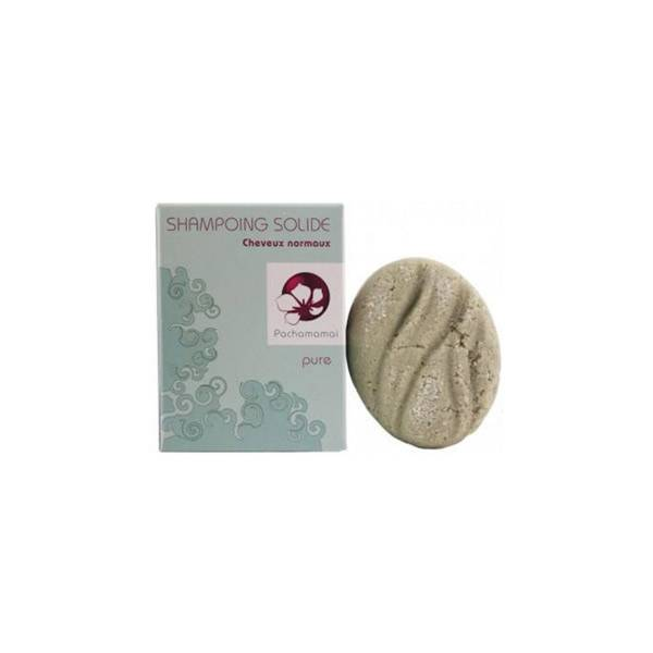 Pachamamaï Pure Shampoing Solide Purifiant Pour Cheveux Normaux 65g