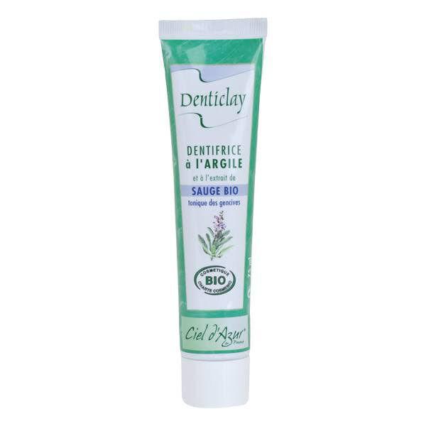 Ciel d Azur Denticlay Dentifrice à l'Argile Bio Sauge 75ml