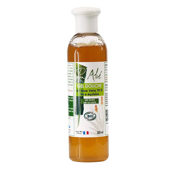 Pur Aloé Gel Douche Bio Aloe Vera 70% 250ml