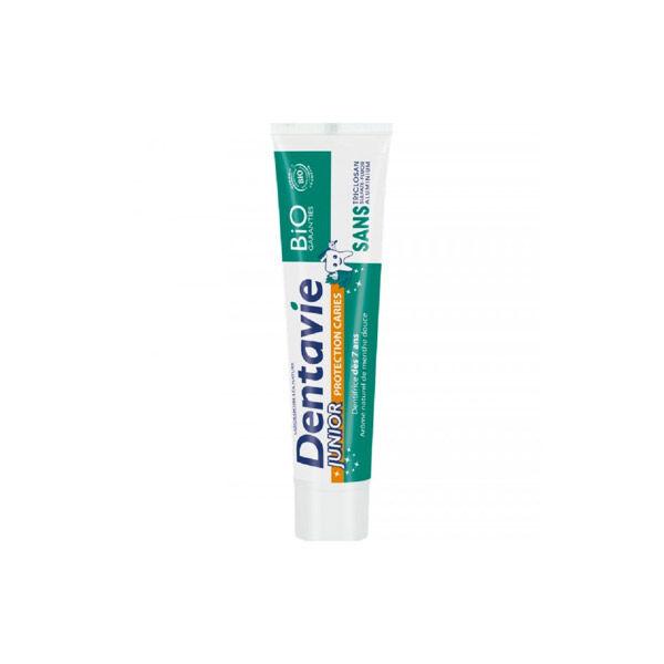 Dentavie Dentifrice Junior + 7 Ans Arôme Naturel Menthe Douce 75ml