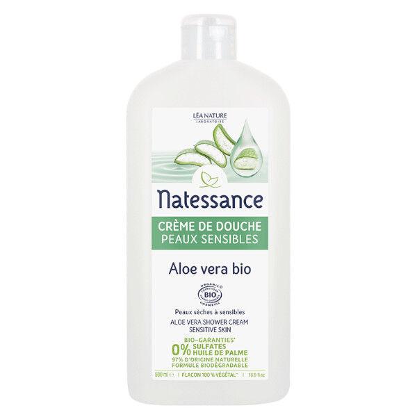 Natessance Crème de Douche Aloe Vera Peaux Sensibles 500ml