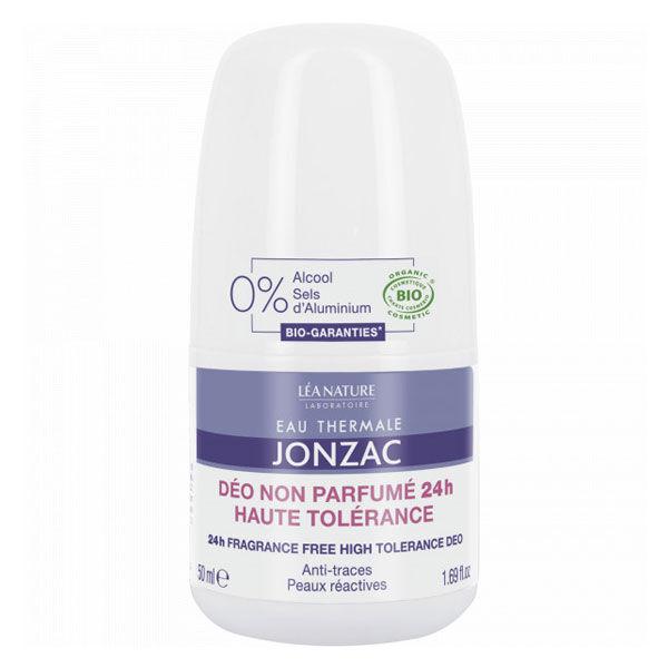 Jonzac Déodorant Non Parfumé 24h Roll-On Bio 50ml