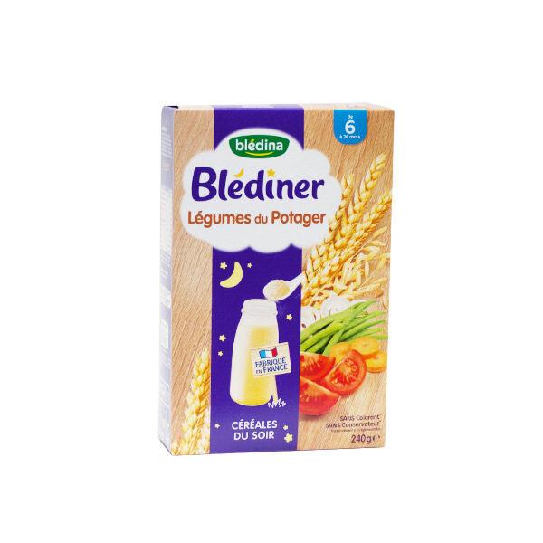 Blédina Blédiner Céréales Légumes du Potager +6m 240g