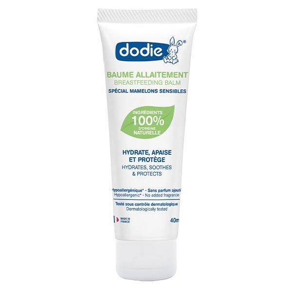 Dodie Hygiène & Soin Crevasses Lanoline Végétale 40ml