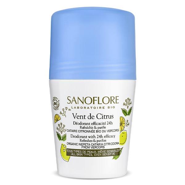 Sanoflore Déodorant Vent de Citrus Roll On 50ml