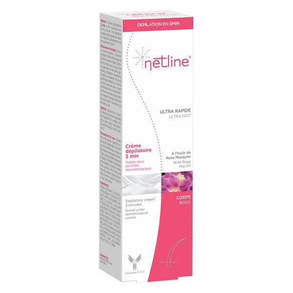 Netline Crème Dépilatoire Aisselles et Maillot avec applicateur 150ml