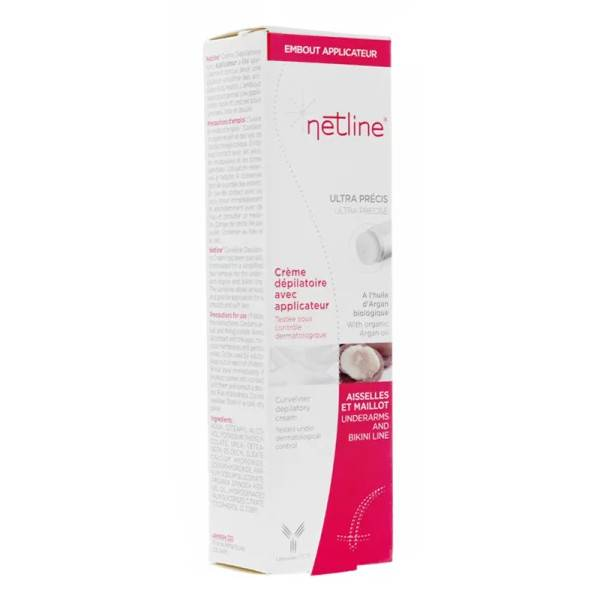 Netline Crème Dépilatoire 3 Minutes avec applicateur 150ml