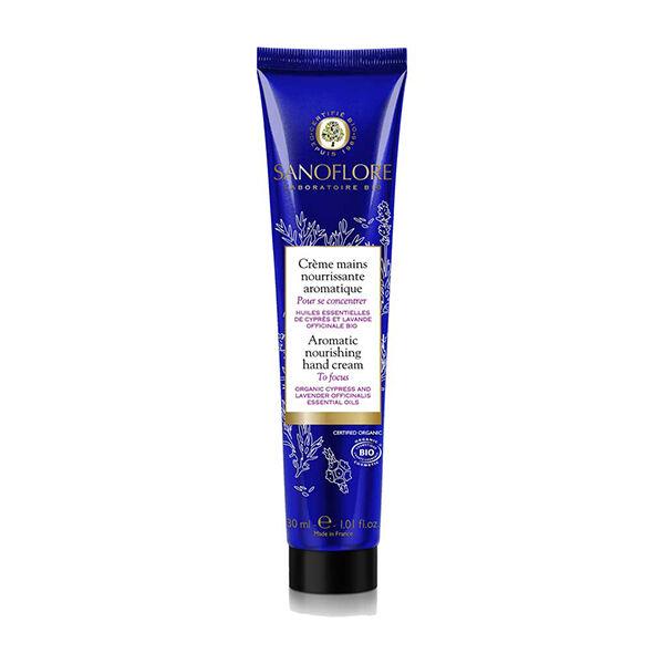 Sanoflore Crème Mains Aromatique Pour Se Concentrer 30ml
