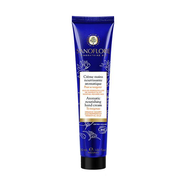 Sanoflore Crème Mains Aromatique Pour Se Revigorer 30ml