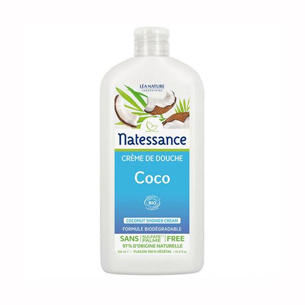 Natessance Crème de Douche Coco Bio 500ml