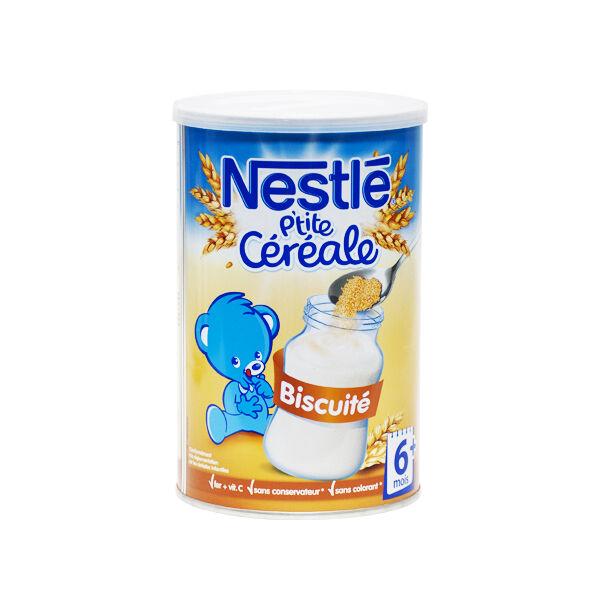 Nestlé P'tite Céréale Biscuité +6mois 400g