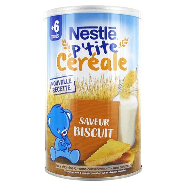 Nestlé Céréales Nestlé P'tite Céréale Biscuité +6mois 400g