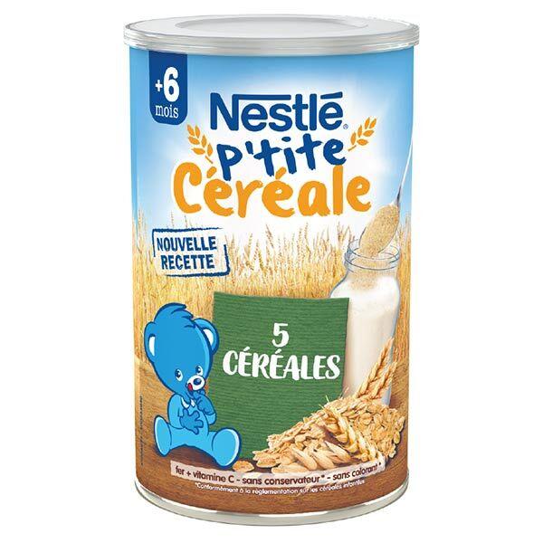 Nestlé Céréales Nestlé P'tite Céréale Saveur 5 Céréales 400g
