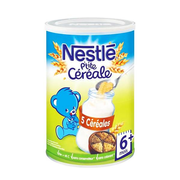 Nestlé P'tite Céréale Saveur 5 Céréales 400g