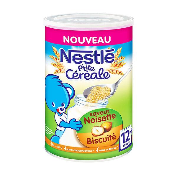 Nestlé P'tite Céréale Saveur Noisette Biscuité 400g