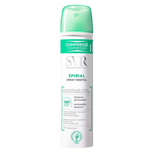 SVR Spirial Spray Végétal Déodorant Anti-Humidité 75ml