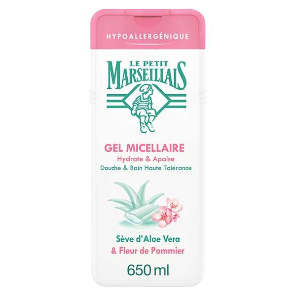 Le Petit Marseillais Gel Micellaire Sève d'Aloe Vera et Fleur de Pommier 650ml