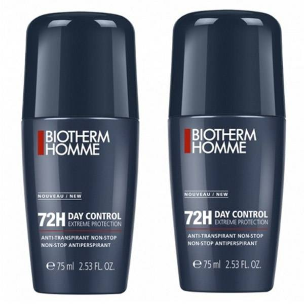 Biotherm Homme Day Control Déodorant Anti-Transpirant 72h Lot de 2 x 75ml