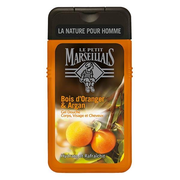 Le Petit Marseillais Gel Douche Homme Bois d'Oranger et Argan 250ml