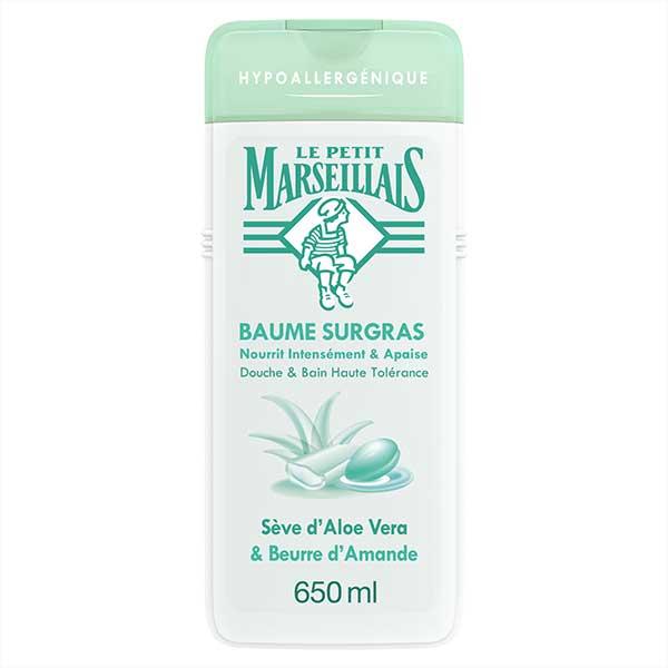 Le Petit Marseillais Baume Surgras Sève d'Aloe Vera et Beurre d'Amande 650ml
