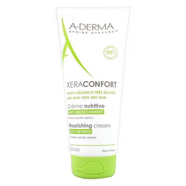 Aderma Xera-Mega Confort Crème Nutritive Anti-Dessèchement 200ml
