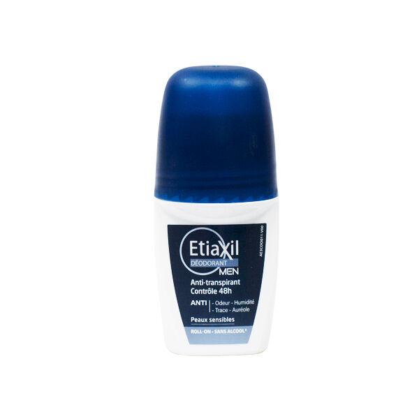 Etiaxil Déodorant Homme Anti-Transpirant 48h Roll-On 50ml
