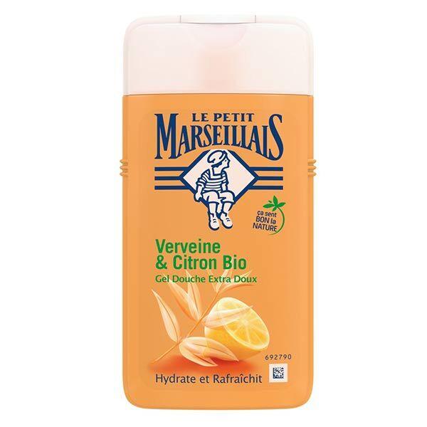 Le Petit Marseillais Gel Douche Extra Doux Verveine & Citron Bio 250ml