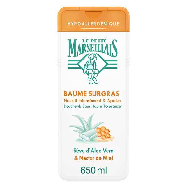 Le Petit Marseillais Baume Surgras Sève d'Aloe Vera et Nectar de Miel 650ml