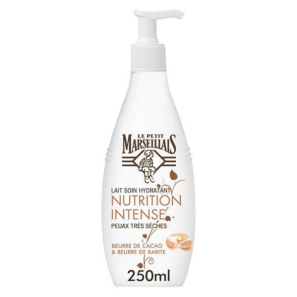 Le Petit Marseillais Lait Soin Hydratant Nutrition Intense Cacao et Karité 250ml