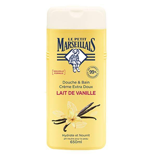 Le Petit Marseillais Douche Crème Extra Doux Lait de Vanille 650ml