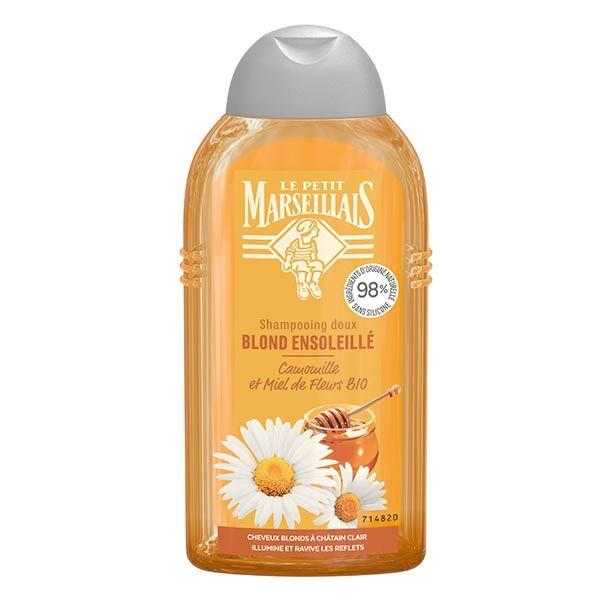 Le Petit Marseillais Shampooing Blond Ensoleillé Camomille et Miel de Fleurs Bio 250ml