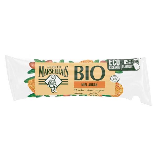 Le Petit Marseillais Douche Crème Surgras Miel Argan Bio Eco-Recharge 250ml