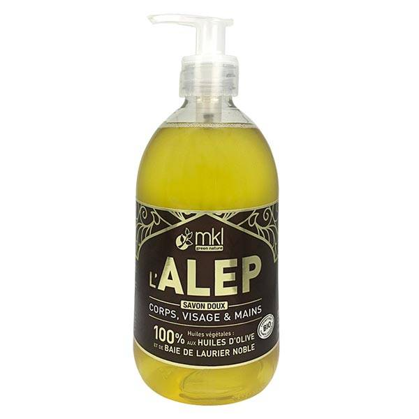 MKL Green Nature Savon Liquide d'Alep 500ml