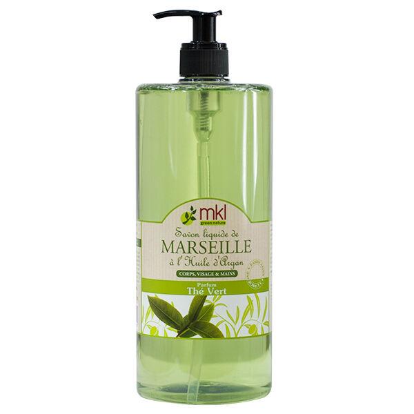 MKL Green Nature Savon Liquide de Marseille Thé Vert 1L