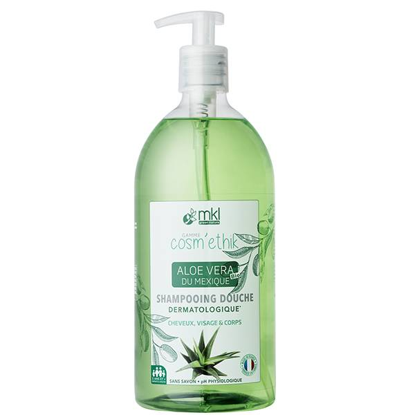 MKL Green Nature Cosm'Ethik Shampooing Douche Aloe Vera du Mexique 1L