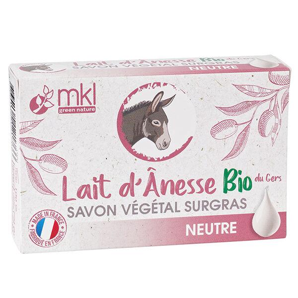 MKL Green Nature Lait d'Ânesse Savon Végétal Surgras 100g