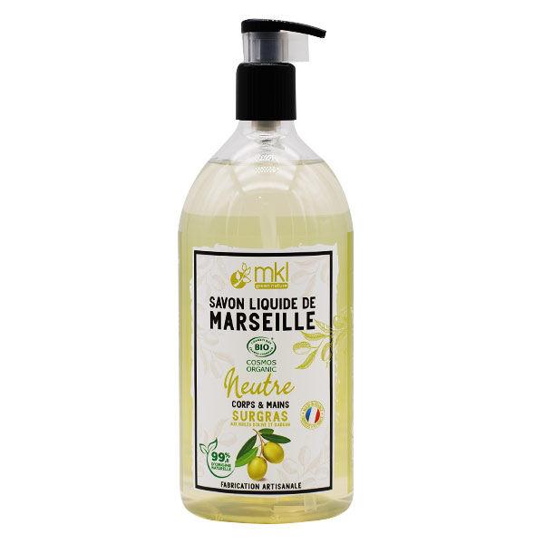 MKL Green Nature Savon Liquide Marseille Neutre Bio 1L