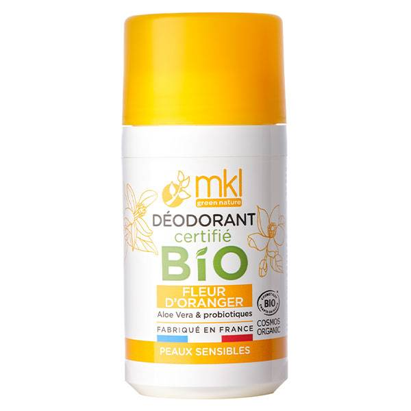 MKL Green Nature Déodorant Fleur d'Oranger Bio 50ml
