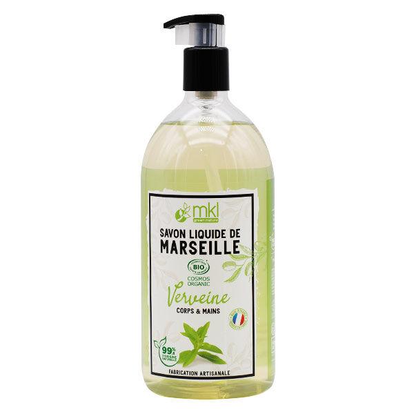 MKL Green Nature Savon Liquide Marseille Verveine Bio 1L