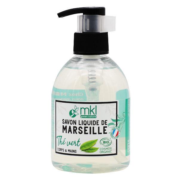 MKL Green Nature Savon Liquide Marseille Thé Vert Bio 300ml