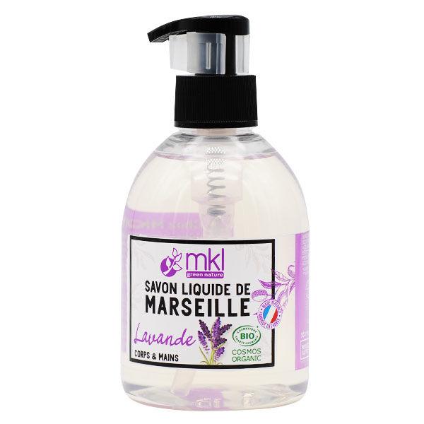 MKL Green Nature Savon Liquide Marseille Lavande Bio 300ml