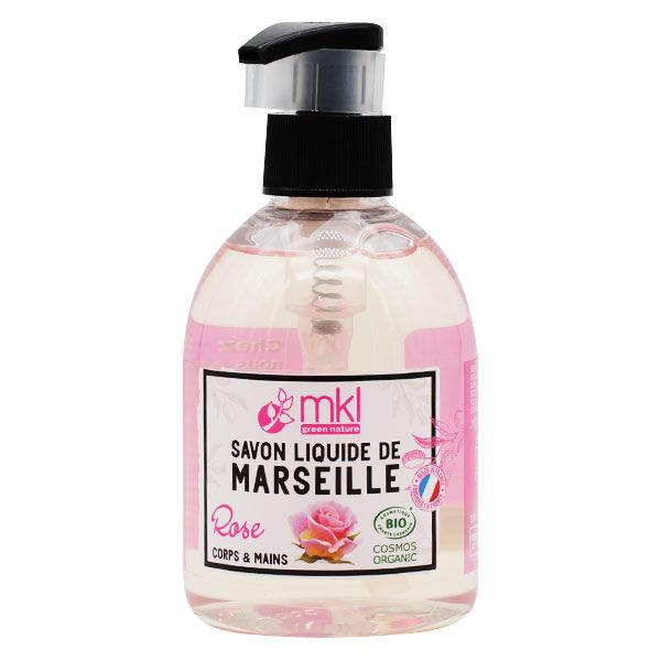 MKL Green Nature Savon Liquide Marseille Rose Bio 300ml