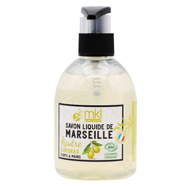 MKL Green Nature Savon Liquide Marseille Neutre Surgras Bio 300ml