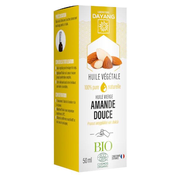 Dayang Huile Végétale d'Amande Douce Bio 50ml