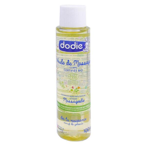 Dodie Huile de Massage Bio 100ml