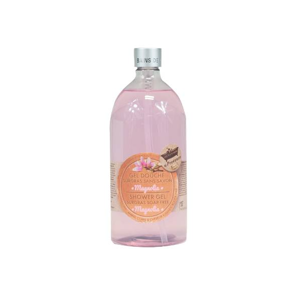 Les Petits Bains de Provence Gel Douche Surgras sans Savon Magnolia 1L