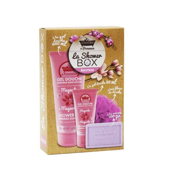 Les Petits Bains de Provence Coffret Shower Box Emotion Magnolia